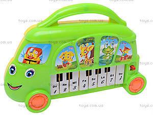 Детский синтезатор «Автобус», 680-14, отзывы