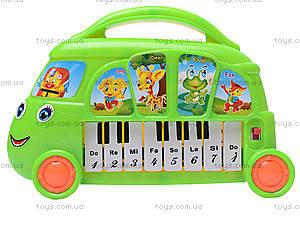 Детский синтезатор «Автобус», 680-14