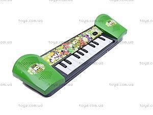 Детский синтезатор «Бен 10», 815