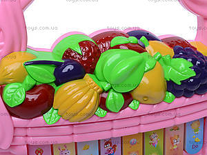 Детский синтезатор «Фрукты и овощи», 06-28B, отзывы