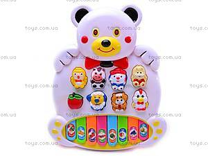Детский синтезатор «Медвежонок», CY-890B