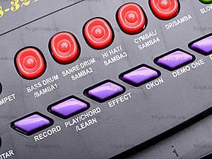Детский синтезатор, с 2-мя динамиками, HS3210A, цена