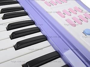 Детский синтезатор с караоке, JXT88016, отзывы