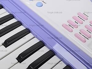 Детский синтезатор с караоке, JXT88016, магазин игрушек
