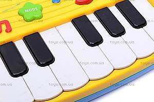 Детский синтезатор, с наушниками, 60061, отзывы