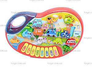 Детский синтезатор «Транспорт», 6011B