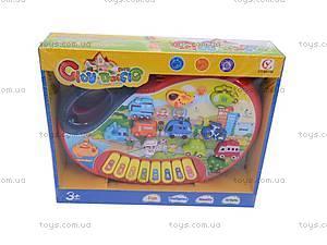 Детский синтезатор «Транспорт», 6011B, отзывы