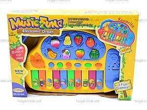 Детский синтезатор «Веселые фрукты», HK-968, отзывы