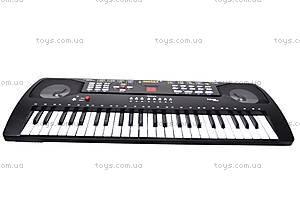 Детский синтезатор «Звезда», с микрофоном, SD4901, купить