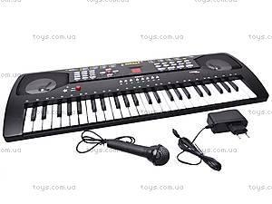 Детский синтезатор «Звезда», с микрофоном, SD4901