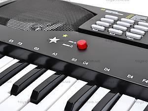 Детский синтезатор «Звезда», с микрофоном, SD4901, игрушки