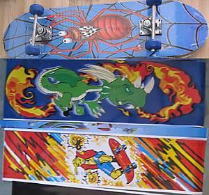 Детский скейт «Мультфильмы», W044-H30016