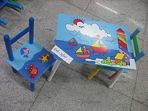 Детский стол со стульями, E03-2100 (W02