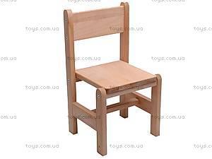 Детский стул, буковый,