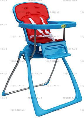 Детский стул для кормления, голубой, BT-LT-06