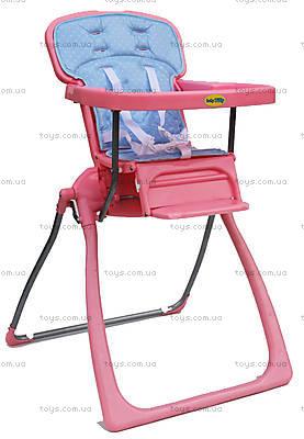 Детский стульчик для кормления, розовый, BT-LT-06