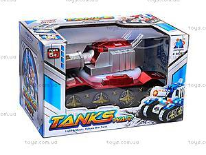 Детский танк, пластиковый, B938D
