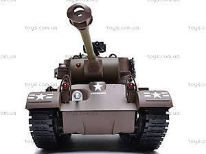 Детский танк с радиоуправлением, 93624101-34, игрушки