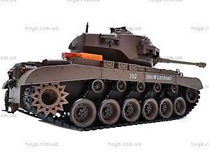 Детский танк с радиоуправлением, 93624101-34, магазин игрушек