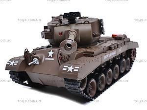 Детский танк с радиоуправлением, 93624101-34, toys.com.ua
