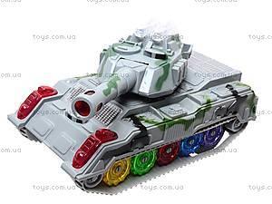 Детский танк со световыми эффектами, 869-1, купить