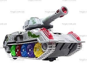 Детский танк со световыми эффектами, 869-1, фото