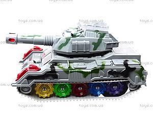 Детский танк со световыми эффектами, 869-1, отзывы