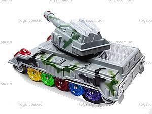 Детский танк со световыми эффектами, 869-1, цена