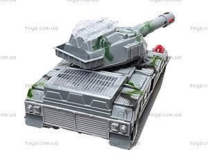Детский танк со световыми эффектами, 869-1, игрушки