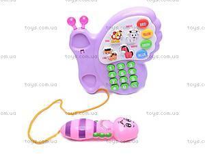 Детский телефон «Бабочка», 983-2