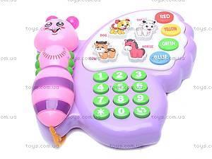 Детский телефон «Бабочка», 983-2, фото