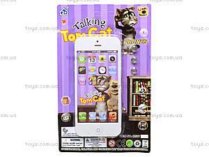 Детский телефон «Говорящий кот Том», MS779-17