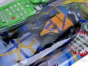 Детский телефон и фигурка «Черепашки-Ниндзя», 2381C, фото