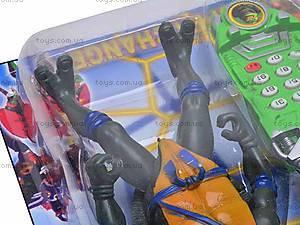 Детский телефон и фигурка «Черепашки-Ниндзя», 2381C, магазин игрушек