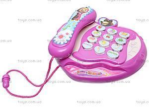 Детский телефон «Маша и медведь», D800, отзывы