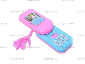 Детский телефон-слайдер, 6620G, фото