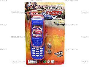 Детский телефон «Тачки», 6961-1