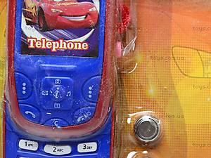 Детский телефон «Тачки», 6961-1, фото