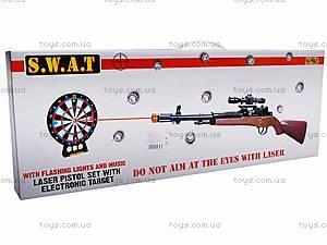 Детский тир, с ружьем и мишенью, XZ-H37, отзывы