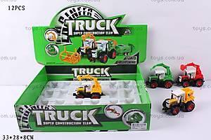 Детский трактор, инерционный, 8155