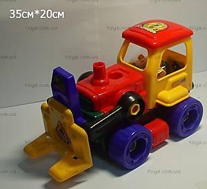 Детский трактор-конструктор, 8088-13-1