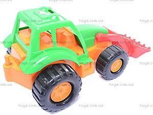 Детский трактор «Орион» с прицепом, 993, купить