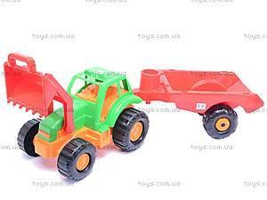 Детский трактор «Орион» с прицепом, 993
