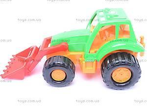 Детский трактор «Орион» с прицепом, 993, фото