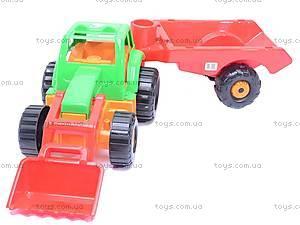 Детский трактор «Орион» с прицепом, 993, отзывы