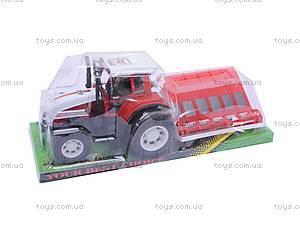Детский трактор, с плугом, 0488-148, отзывы