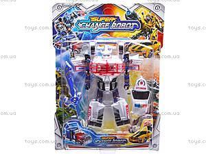 Детский трансформер Change Robot, 8-16