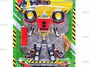 Детский трансформер-экскаватор, 3198A, цена