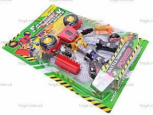 Детский трансформер-экскаватор, 3198A, игрушки