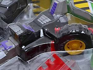 Детский трансформер-экскаватор, 3198A, детские игрушки